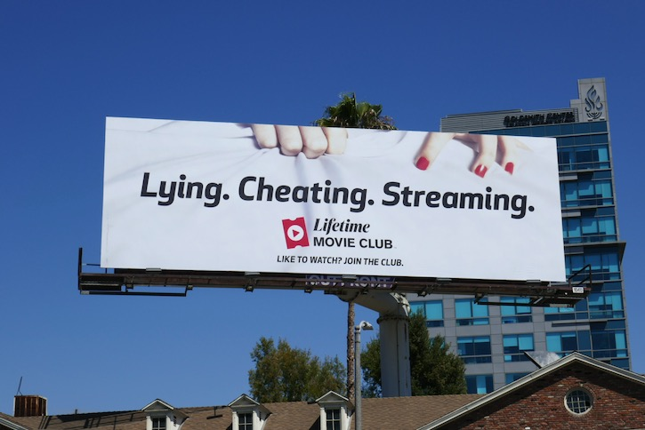 Lifetime Movie Club Lying Cheating Streaming billboard
