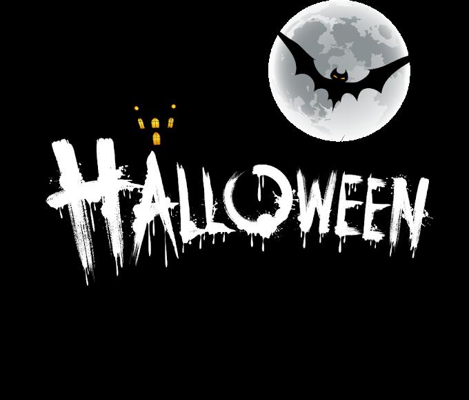 Halloween Jack-o'-lantern Font, Halloween font design, happy Halloween, text png by: pngkh.com