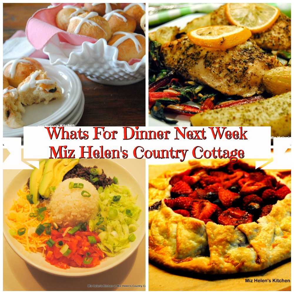 Whats For Dinner Next Week * Week of 4-5-20
