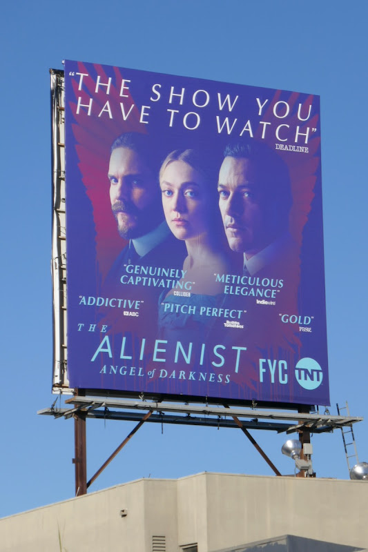 Alienist Angel of Darkness 2020 FYC billboard
