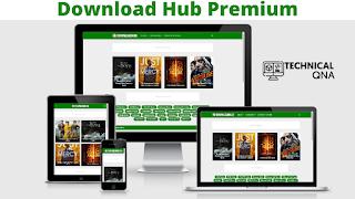 Download Hub Premium Version - Perfect for Movie Sites