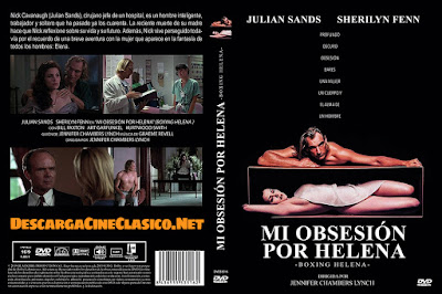 Carátula dvd: Mi obsesión por Helena