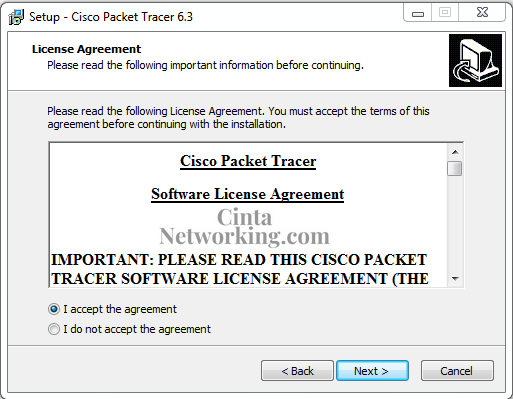 Cara Menginstall Cisco Packet Tracert Dengan Mudah di Windows 7/8/10 - Cintanetworking.com