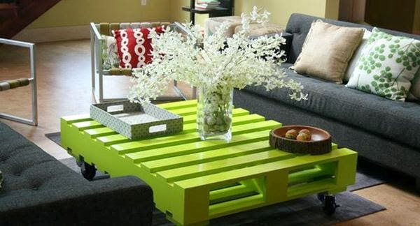 Recycled Wood Pallets For Interior Designs 1