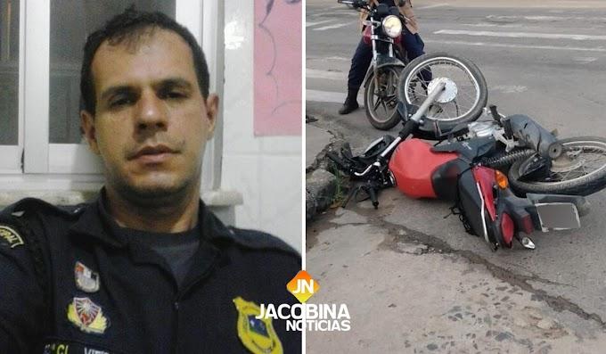 Jacobina: Guarda municipal morre em acidente com ambulância do Samu