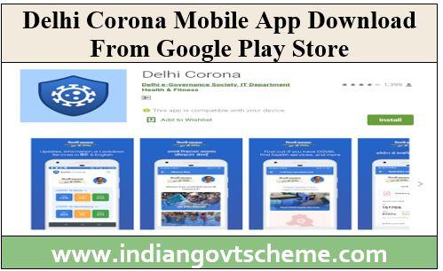 Delhi Corona Mobile App