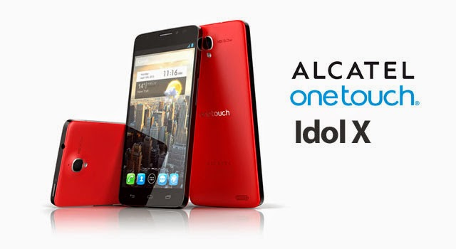 Materiales y Diseño del Alcatel One Touch Idol X