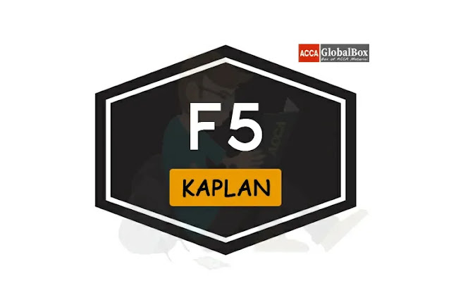 F5 - KAPLAN Exam Kits, Accaglobalbox, acca globalbox, acca global box, accajukebox, acca jukebox, acca juke box,