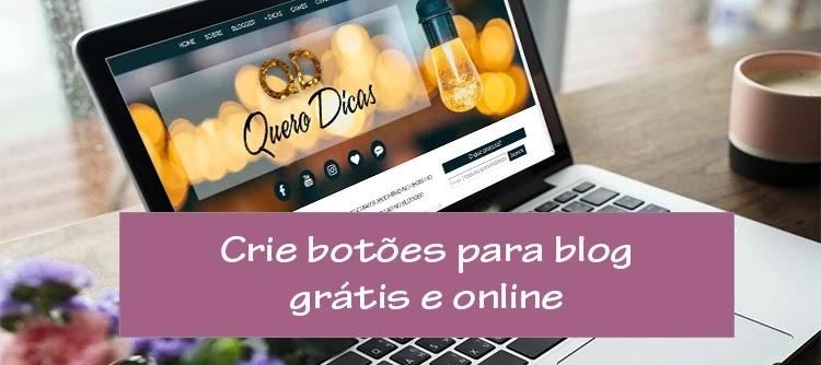 Criar botões para blog