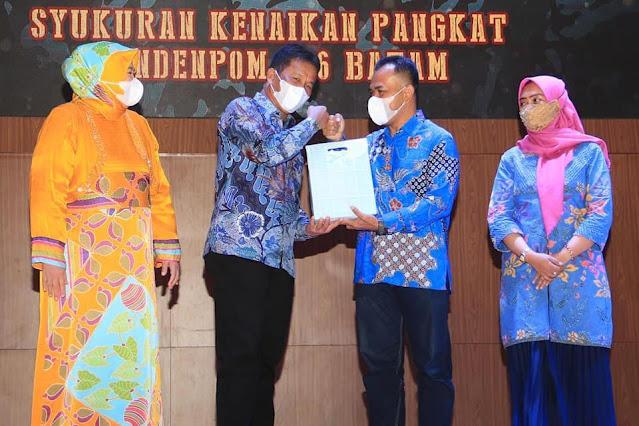 Hadiri Pisah Sambut Danyonif 10 Marinir SBY, Rudi Ajak Forkompinda dan Masyarakat Kompak Bangun Batam