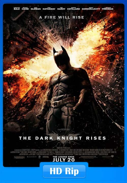 The Dark Knight Rises 2012 720p BDRip Tamil Telugu Hindi x264 | 480p 300MB | 100MB HEVC Poster