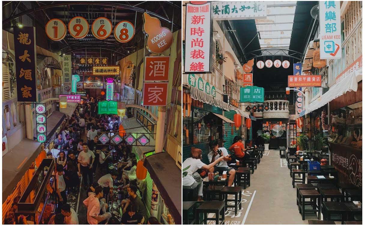 Hẻm bia Lost in Hong Kong - Điểm check in sống ảo tuyệt vời