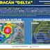 Delta se degrada a huracán categoría 1 y continuará generando lluvias intensas en Tabasco y la Península de Yucatán