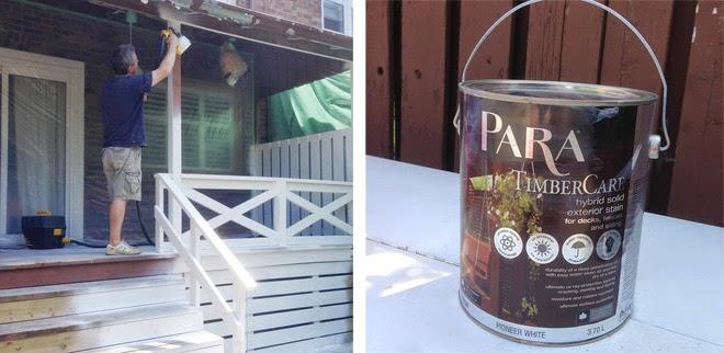 para paint timbercare whitewash white