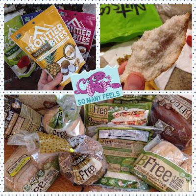 casey the college celiac frontier bites BFree Foods