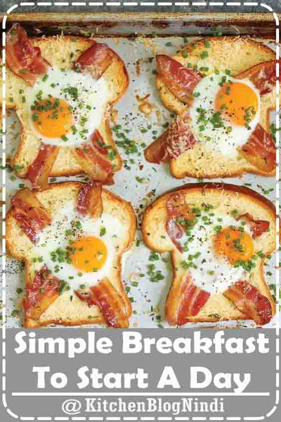 4.9★★★★★ | Want a tasty yet simple breakfast to start a day? Stop by and find breakfast ideas that are quick and easy to make. Getting their recipes on hand, you no longer rush out of the house with some toasts on hand. The collection include a number of foods #SimpleBreakfastStartADay #Healthy #Recipes #Breakfast