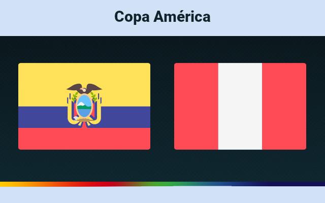 Ecuador vs. Peru Live Copa America, TV channel, how to watch online, Team news, start time