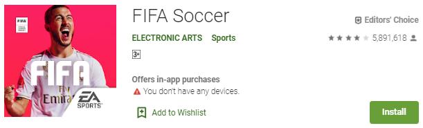 FIFA Soccer - Game Bola Dengan Fitur Terlengkap