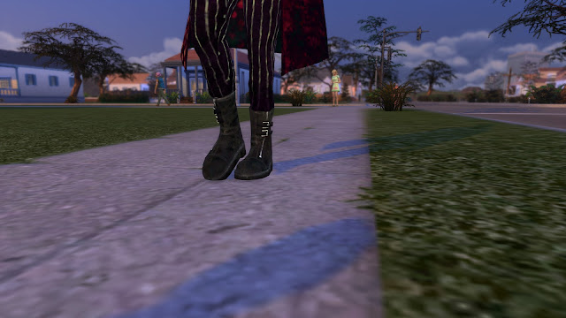 DBD Trickster Boots Sims 4 CC Download