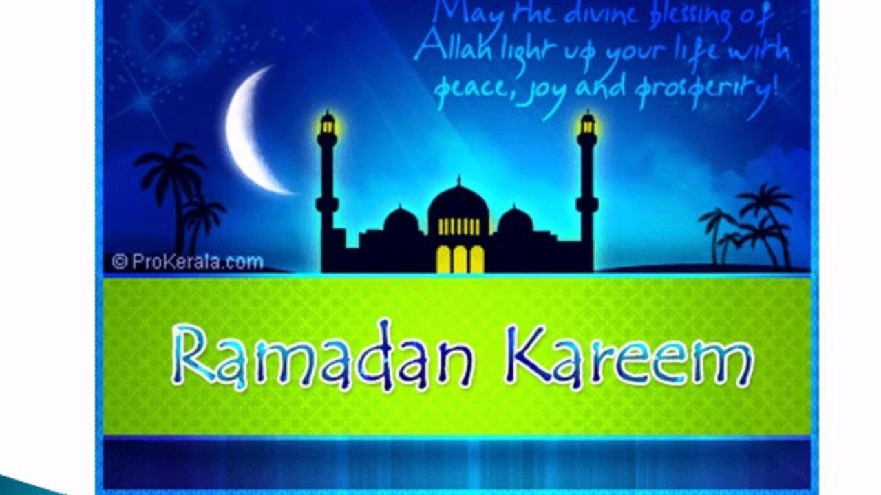 Ramadan Kareem Greeting Messages Nornasfo