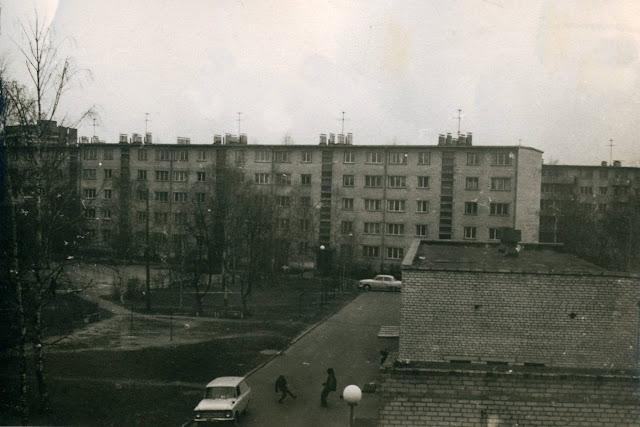 1981 год. Югла. Вид на улицу Балтезера, 5