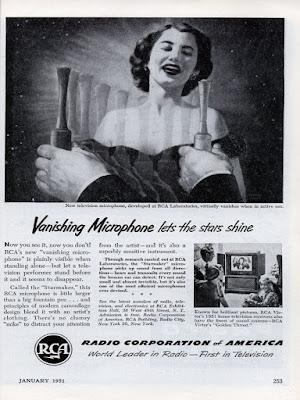 RCA Vanishing Microphone