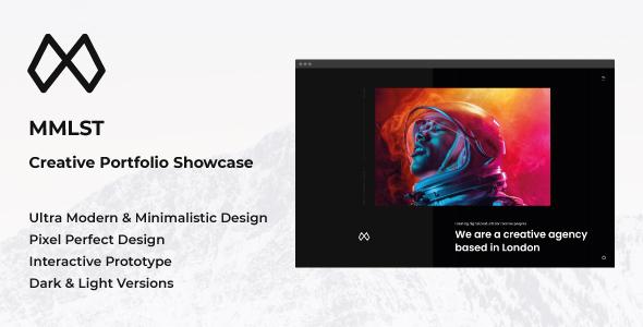 Portfolio Showcase Adobe XD Template