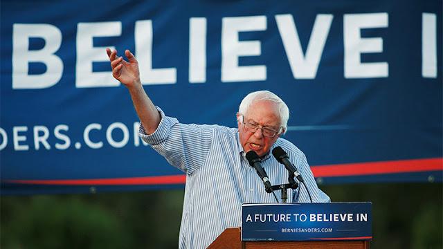 """¿Sanders cambia de táctica?: """"Si Trump lucha contra las grandes corporaciones seré su aliado"""""""