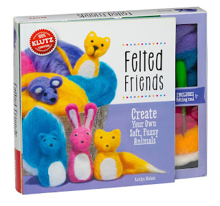Felted crafts for kids