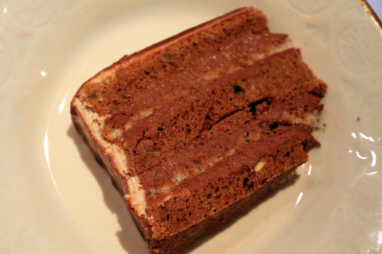 Glacage Chocolat Sur Un Layer Cake