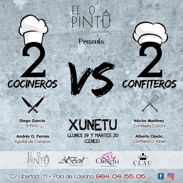 El Pintu - 2 Cocineros vs 2 Confiteros 2021