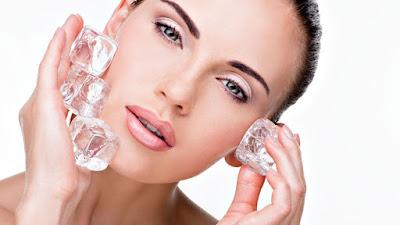manfaat air es untuk wajah