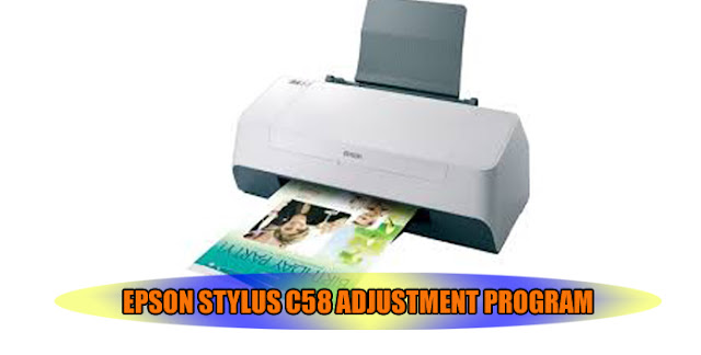 Epson Stylus C58 Printer Adjustment Program