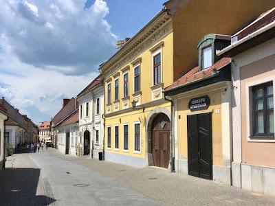 Eger, ulica starego miasta