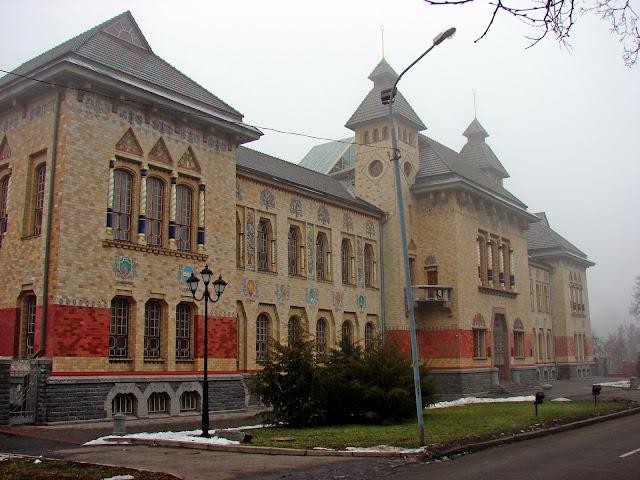 Полтавский краеведческий музей - здание