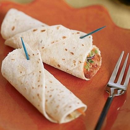 Mu Shu Chicken Wraps Recipe
