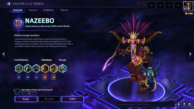 10 Easter Eggs de Heroes of the Storm - Nazeebo troll