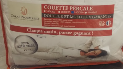 couette percale