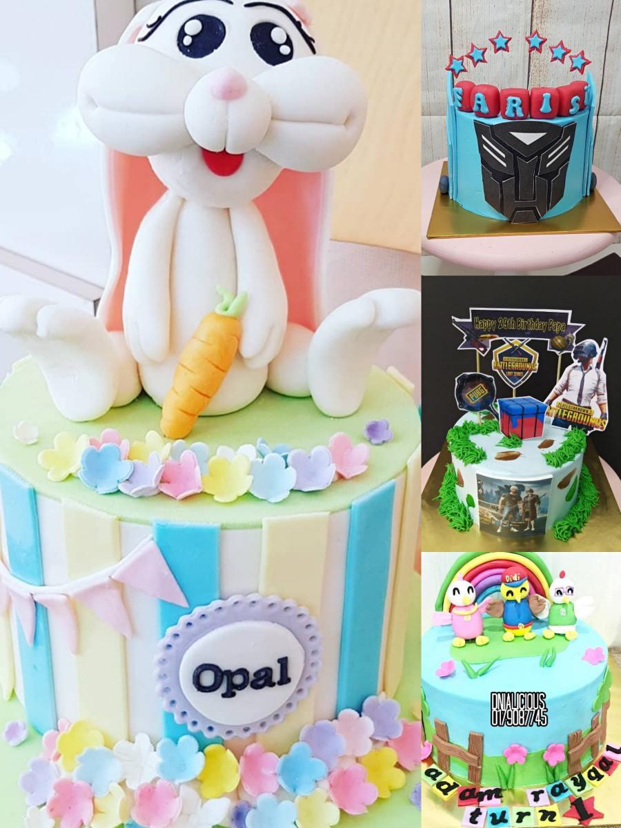 Dnialicious Cake House Kek Birthday Sedap Di Kuala Terengganu