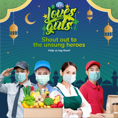 Calpis partners with Siti Nordiana to organize virtual reunions for frontliners