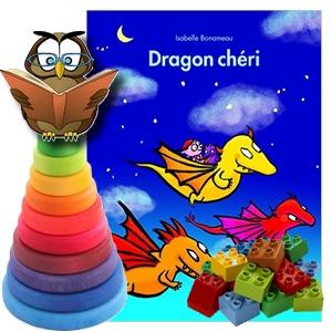 dragon chéri au lit les affreux Isabelle Bonameau album jeunesse avis critique chronique blog