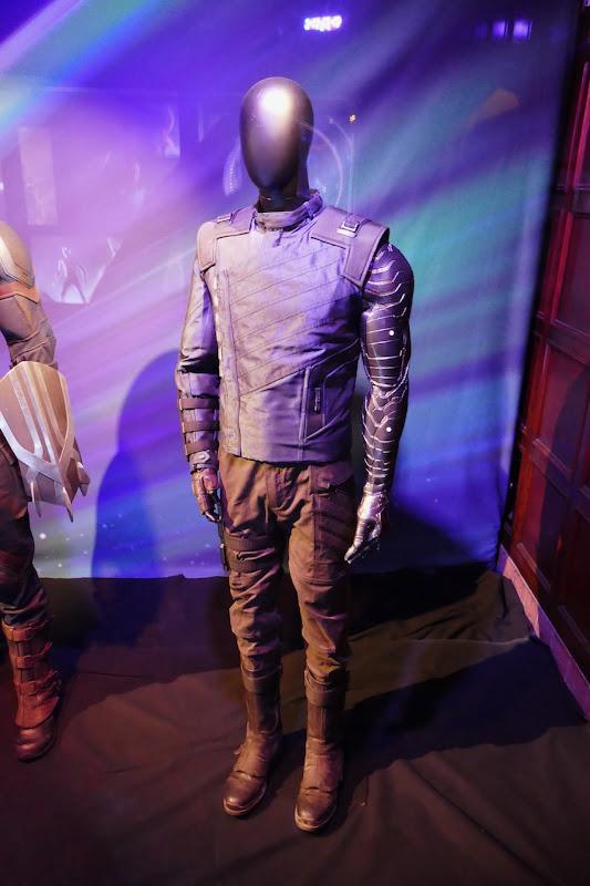 Sebastian Stan Avengers Infinity War Winter Soldier costume