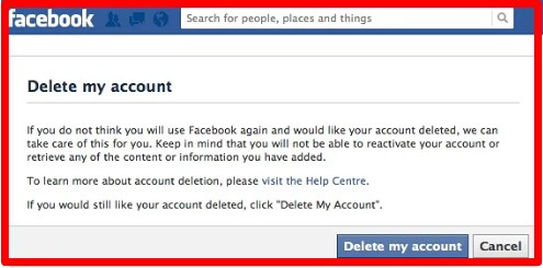 How to delete facebook profile picture