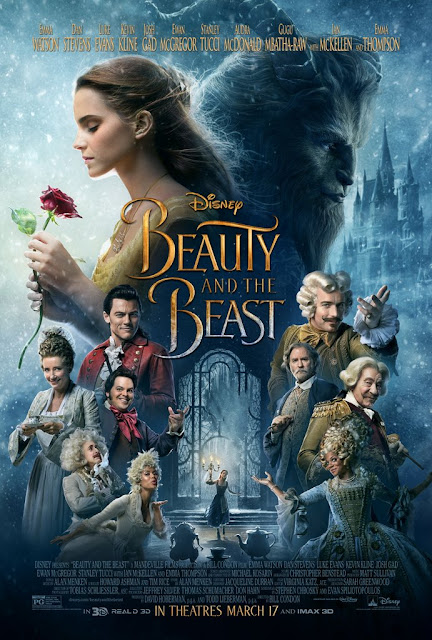 Beauty and the Beast film poster - live action 2017 version