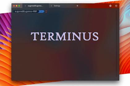 Terminus - Terminal Emulator for Linux, Windows and MacOS