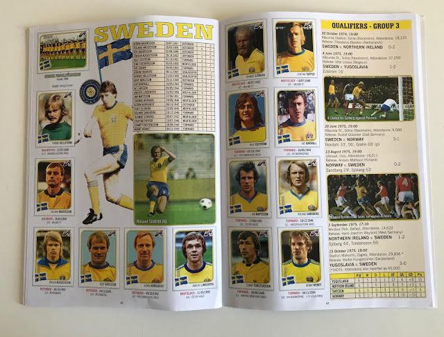 Figurine Svezia Euro 76