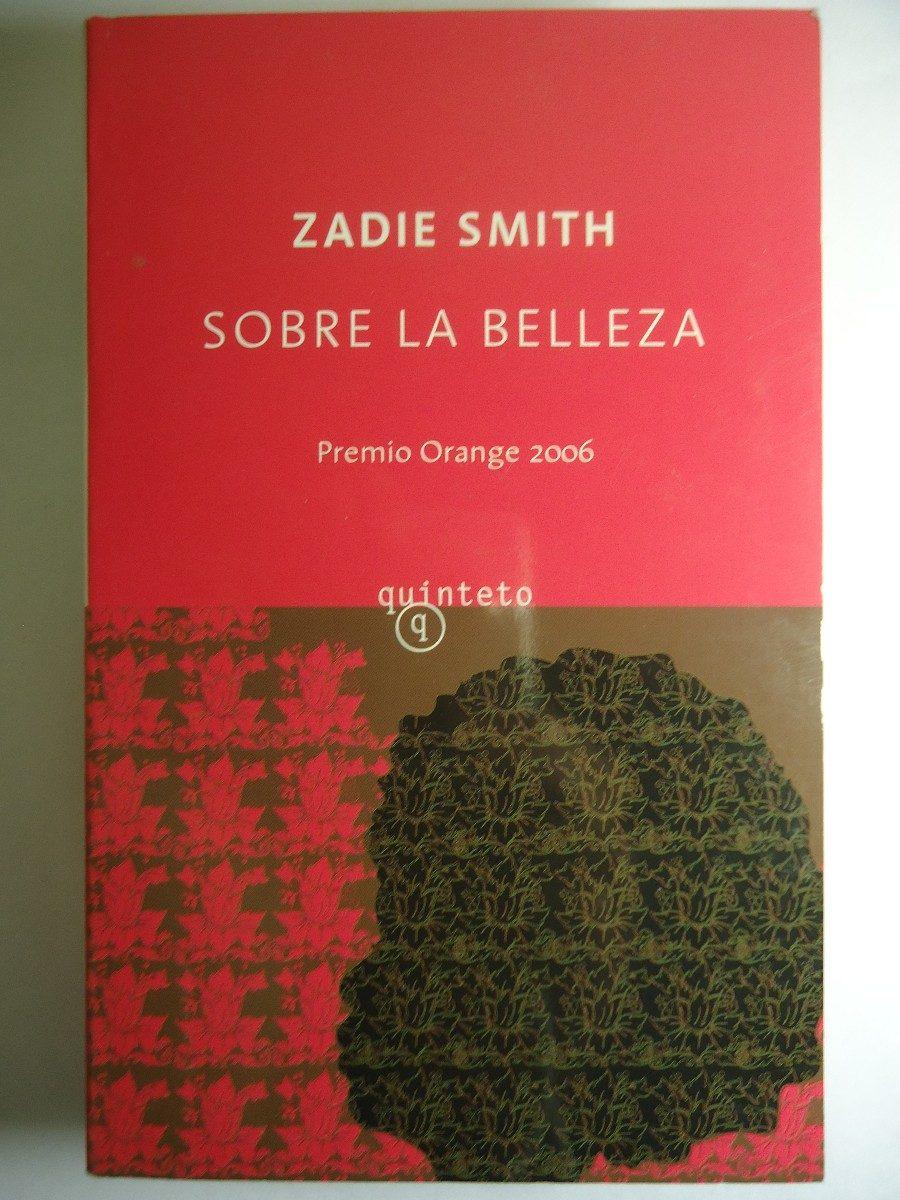 """Burbuja de lectura """"Sobre la belleza"""", de Zadie Smith."""