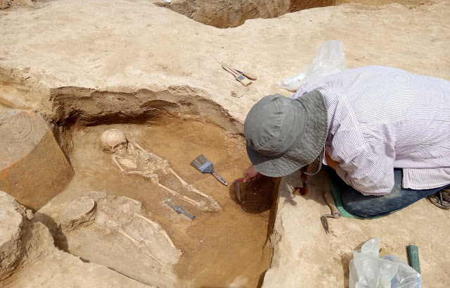 Late Roman/Early Christian graves discovered in Romanian city of Constanta