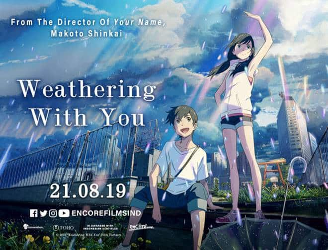 "Precompra novela ""Weathering With You"""