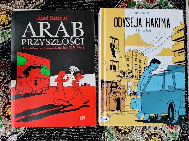 Odyseja Hakima i Arab Przyszłości - komiksy o Bliskim Wschodzie.